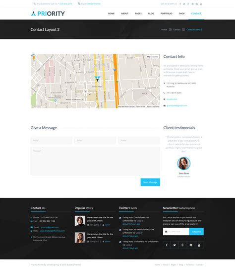 layout email html5 priority html5 multipurpose template