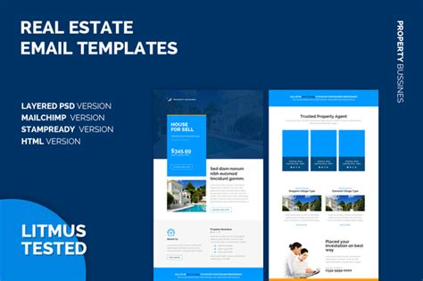real estate email templates free indesign templates real estate 187 designtube