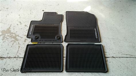 Floor Mats Toyota Corolla by New Oem Toyota Corolla All Weather Floor Mats 2014 And Up