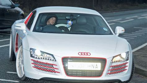 white and pink audi footballers cars 50 of the greatest cars in football