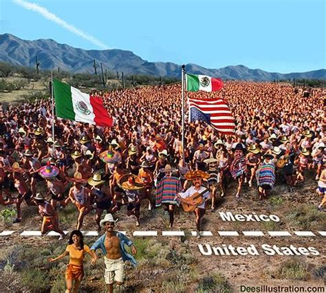 K Fed Running For The Border by Kelso The Anti White Immigration Voice