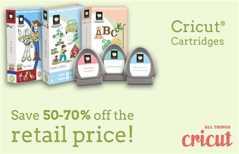cricut printable vinyl uk 50 70 off cartridges allthingscricut com cricut