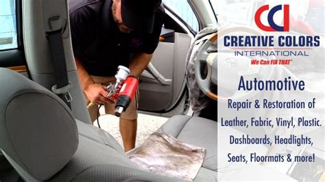 auto upholstery repair nj creative colors rescues car for dealership we can fix that