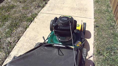 yardman   mower  honda engine youtube