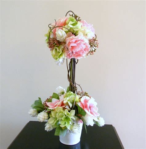 topiary beautiful flowers topiary centerpieces for