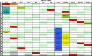 Annual Event Calendar Template by Free Annual Leave Planner Template Calendar Template 2016