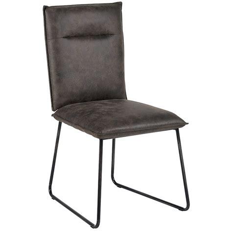 chaises pas chères chaise moderne cuir tissus metal casita meubles gibaud