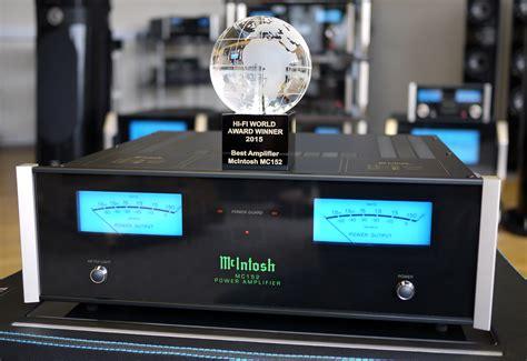 mcintosh mc named  amplifier    fi world