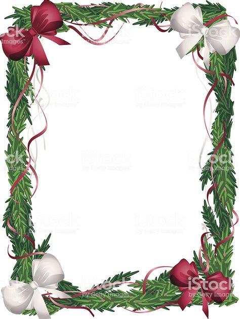 immagini cornici natalizie cornice verticale albero di natale rosso e bianco con