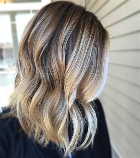 medium brown hair with platinum blonde highlights 40 of the best bronde hair options blonde balayage