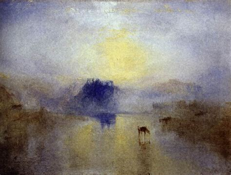 W Painting Technique by Norham Castle 1845 J M W Turner Wikiart Org