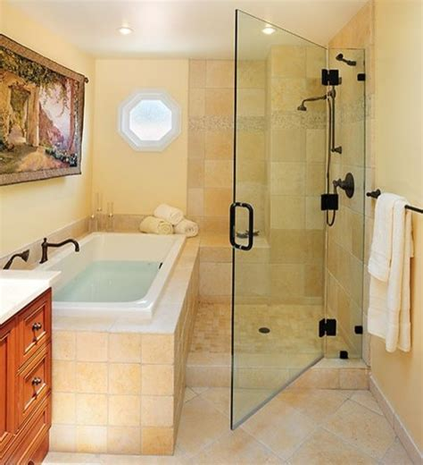 bathroom tub and shower ideas tub shower combo home design ideas pictures remodel and