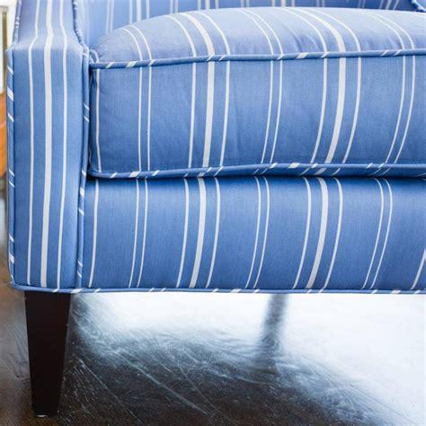 blue striped chair and ottoman houseofaura com blue and white ottoman blue and white