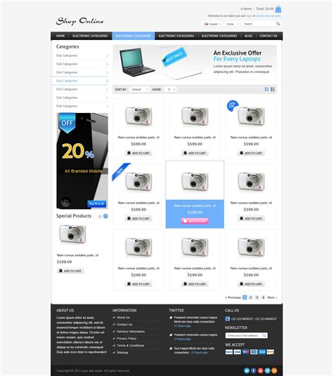 product layout psd shop online psd template shopping psd design best