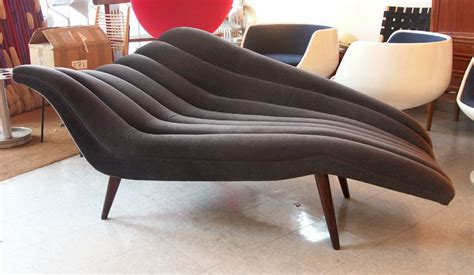 fainting and chaise lounge ultra chic chaise lounge modernist fainting at 1stdibs