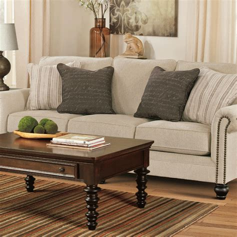 milari linen sofa milari linen sofa lexington overstock warehouse