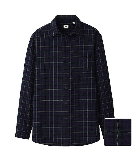 Uniqlo Flannel Shirt flannel check sleeve shirt uniqlo class of check shirts uniqlo