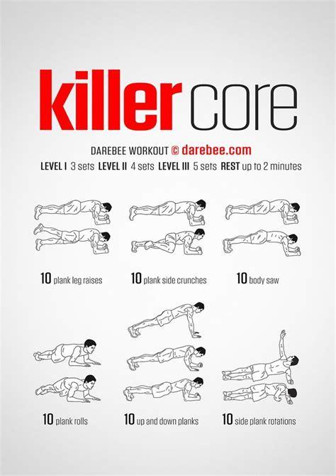 killer workout diy exercise