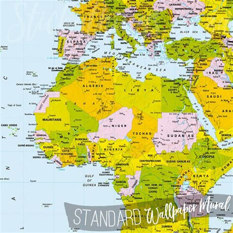 wall mural map of the world map of the world wall mural world map wallpaper