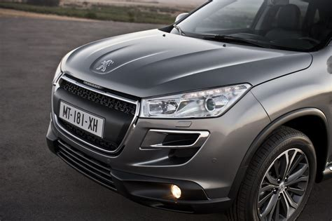 peugeot crossover peugeot 4008 crossover new photos released autoevolution