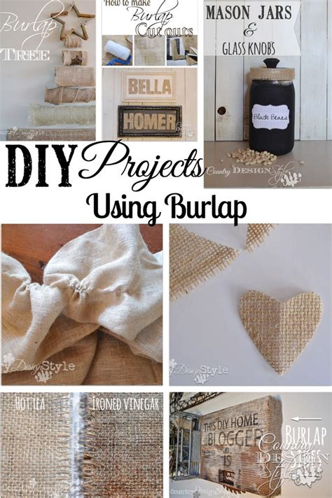 diy burlap crafts 17 best images about burlap on burlap