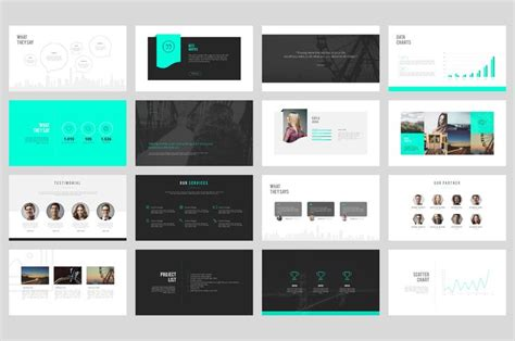 Top 23 Ideas About Ppt On Pinterest Behance Creative And Fonts Download Powerpoint Portfolio Template