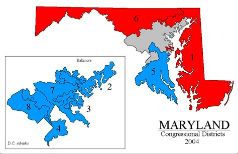 maryland gerrymandering map rangevoting org gerrymandering and a cure shortest