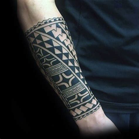 tribal tattoos lower arm 60 tribal forearm tattoos for manly ink design ideas