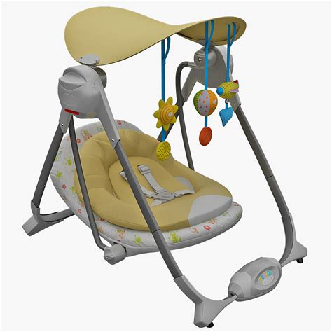 chicco swing chair 3d obj bouncy chair chicco polly
