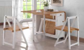 Dining Table Set Bench Fold Up Furniture 10 Of The Best Space Saving Designs