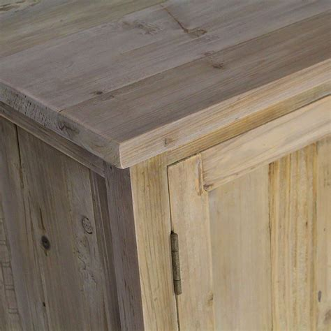 Bufet Indiana 1 5 Meter enfilade ancienne 2 portes 4 tiroirs pin recycl 233 made in meubles