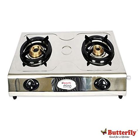 Oven Butterfly Gas butterfly lpg rhino 2 burner gas stove available at