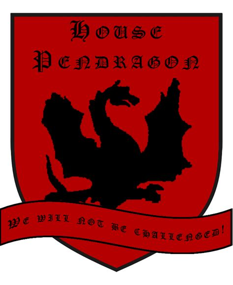 house of pendragon house pendragon coat of arms by lordpendragonofcaria on deviantart