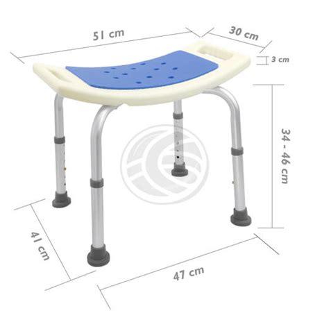 sgabello per doccia sgabello per vasca ergonomico da doccia altezza regolabile