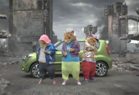Hamster Kia Commercial Kia Soul On Hamsters Subaru And Car Cleaning