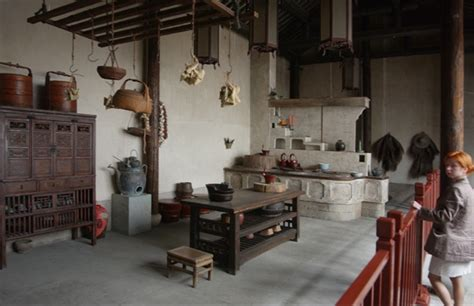 ancient chinese kitchen traditional kitchen design
