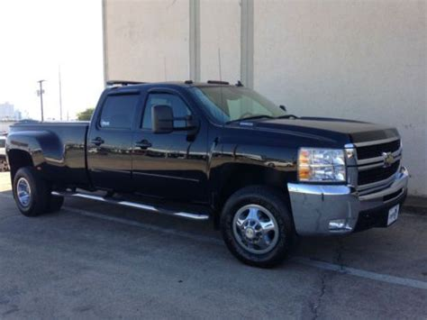 2008 chevrolet silverado 3500 for sale used cars for sale buy used 2008 chevy 3500 western hauler 4x4 ltz crew cab duramax 44k miles leather load in fort