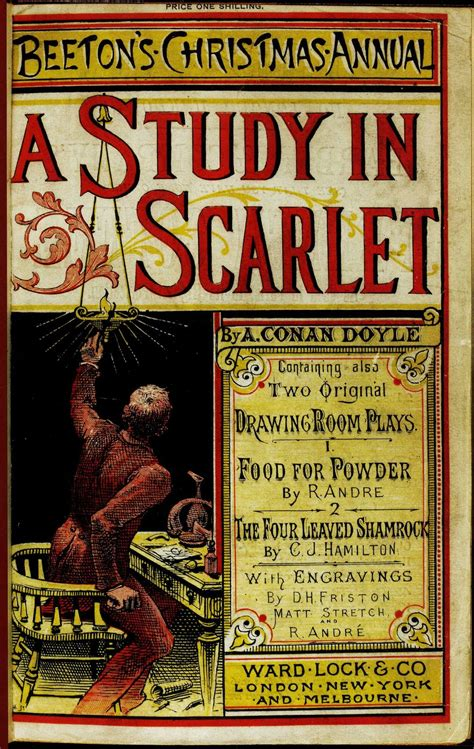 a study in scarlet books a study in scarlet by sir arthur conan doyle they