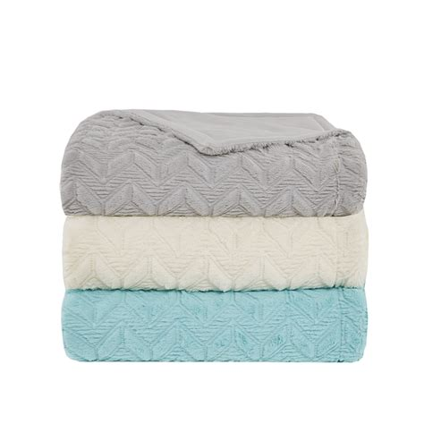 design photo blanket intelligent design laila oversized quilted textured plush