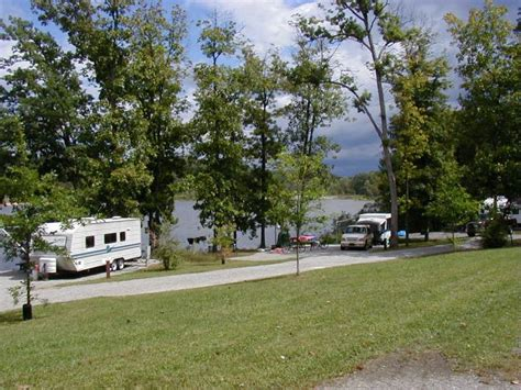Keystone Lake State Park Cabins by Keystone State Park Derry Pa Lakeside Csites Irv2