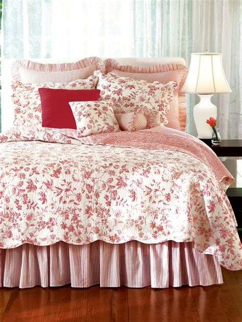 red toile bedroom brighton red toile bedding by c and f aj moss owl