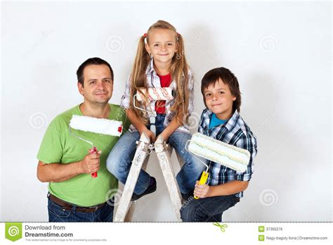 the home improvement squad ready to paint a room royalty
