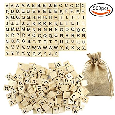 bag of scrabble letters goodlucky wooden scrabble letter tiles with bag 500
