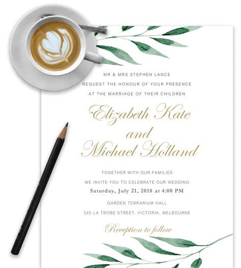 Wedding Invitations Templates Word by Wedding Invitation Templates In Word For Free