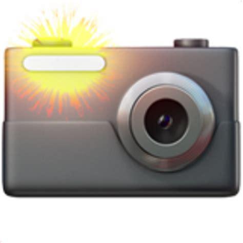 emoji camera camera with flash emoji u 1f4f8