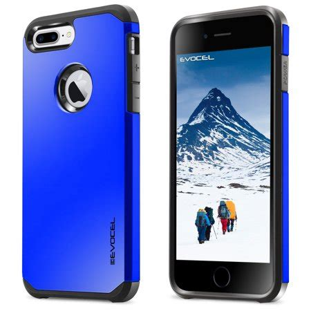 evocel armure series hybrid for iphone 7 plus brilliant blue walmart