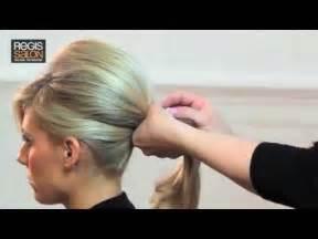 tutorial video wedding create a bardot wedding ponytail hair tutorial video