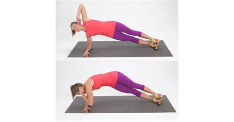 side elbow plank   twist tone  abs