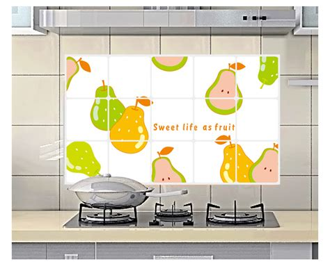 wallpaper dapur anti minyak jual stiker anti minyak dapur wallpaper dinding pear