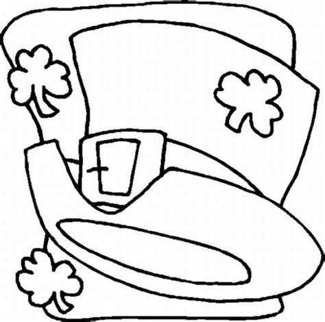 st patrick s day 2013 coloring page coloring book